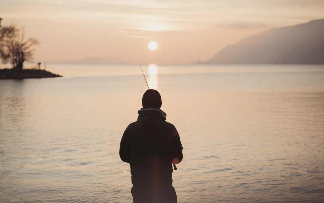 "Oct 16  ""Going Fishing With God""  Mark 1:16-20"